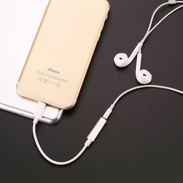3.5mm Jack Audio Cable Adapter for iPhone X XS Max 8 7 11 Earphone Aux Splitter Headphone for IOS Syetem Converter Accessories