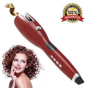 Newest LCD Full Automatic Hair Curler Curling Iron Air Curler Air Rotating Portable Air Spin N Wand Curl 1 Inch Hair Curler